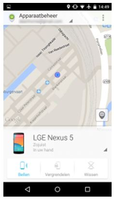 Android blokkeren apparaatbeheer